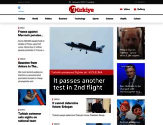 turkiyenewspaper.com screenshot