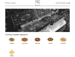 turkmencarpets-online.com screenshot