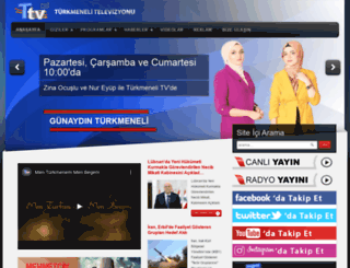 turkmenelitv.com screenshot