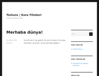 turkore.com screenshot