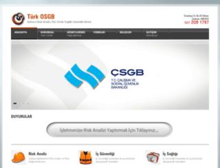 turkosgb.com screenshot