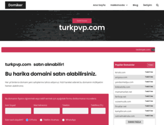 turkpvp.com screenshot