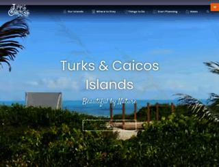 turksandcaicostourism.com screenshot
