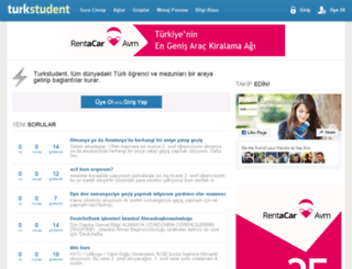 turkstudent.net screenshot