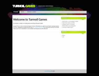 turmoilgames.com screenshot