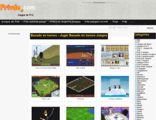 turn-based.frivde.com screenshot