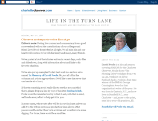 turn-lane.blogspot.com screenshot