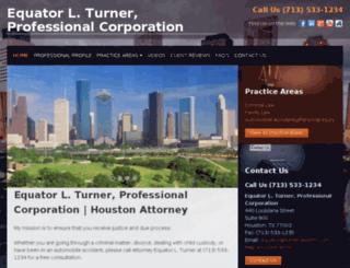 turner-lawfirm.avvosites.com screenshot