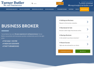 turnerbutler.co.uk screenshot