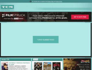 turnerclassicmovies.com screenshot