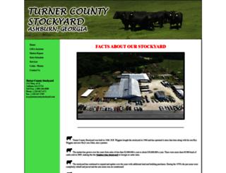 turnercountystockyard.com screenshot