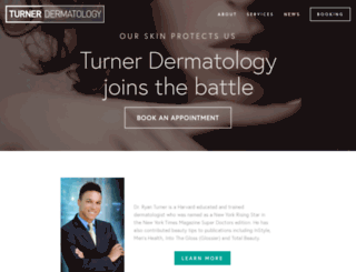 turnerdermatology.com screenshot