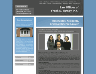 turneylawfirm.com screenshot