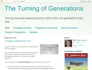 turning-of-generations.blogspot.com screenshot