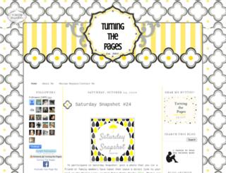 turningthepagesx.blogspot.ca screenshot