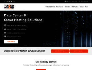 turnkeyinternet.net screenshot