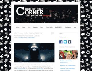 turntherightcorner.com screenshot