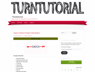 turntutorial.wordpress.com screenshot