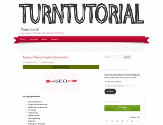 turntutorial.wordpress.com screenshot