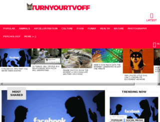turnyourtvoff.com screenshot