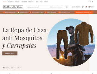 turopadecaza.com screenshot