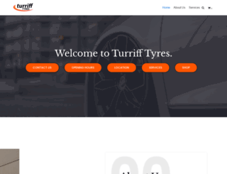 turrifftyres.co.uk screenshot