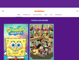 turtles.mundonick.com screenshot