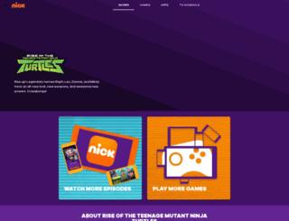 turtlesvsfoot.com screenshot