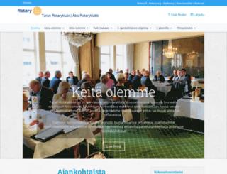 turunrotaryklubi.fi screenshot