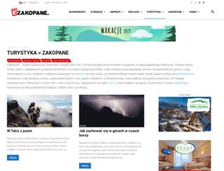 turystyka.ezakopane.pl screenshot