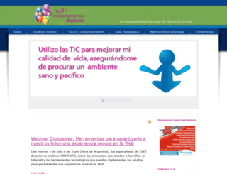 tus10comportamientosdigitales.com screenshot