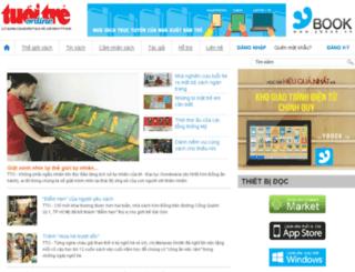 tusach.tuoitre.vn screenshot