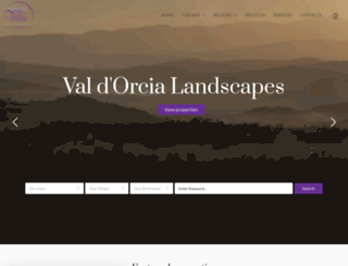 tuscanvillas.com screenshot