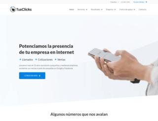 tusclicks.com.co screenshot