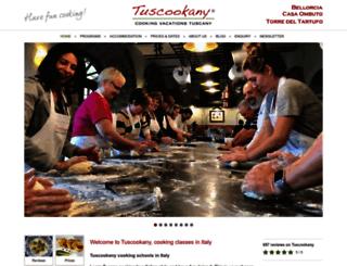 tuscookany.com screenshot