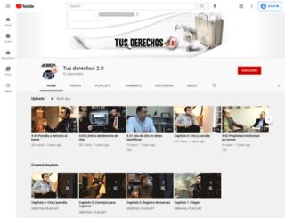 tusderechosdospuntocero.com screenshot