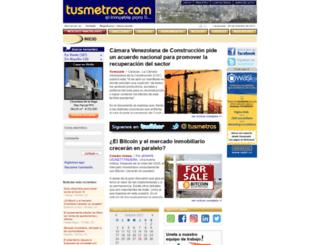 tusmetros.com screenshot