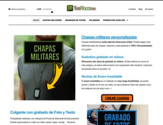 tusplacas.es screenshot