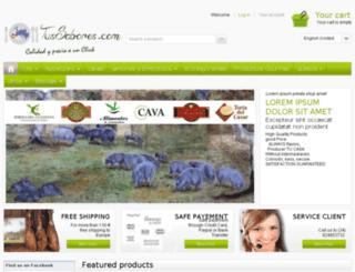 tussabores.com screenshot