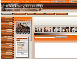 tustelenovelascompletas.org screenshot