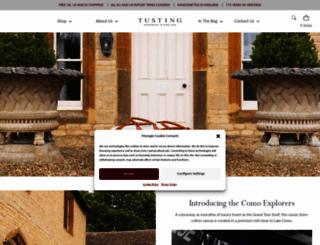tusting.co.uk screenshot