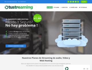 tustreaming.cl screenshot