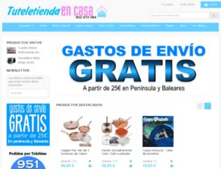 tuteletiendaencasa.com screenshot