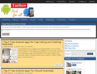 tuthow.com screenshot