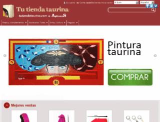 tutiendataurina.com screenshot