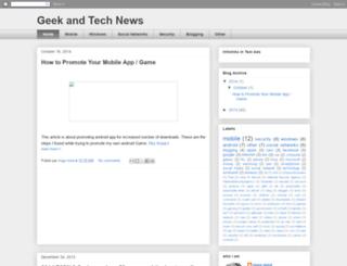 tuto4geek.blogspot.com screenshot