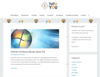 tuto4you.fr screenshot