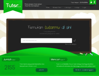 tutor.co.id screenshot