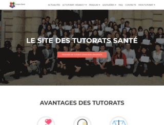 tutoratpaces.fr screenshot