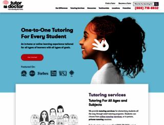 tutordoctor.com screenshot